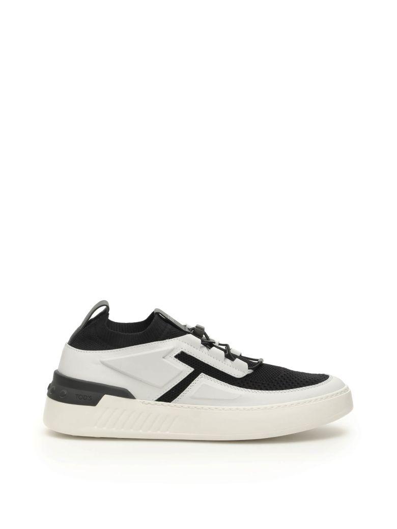 Tod's No_code_x Sneakers - BIANCO NERO (Black)