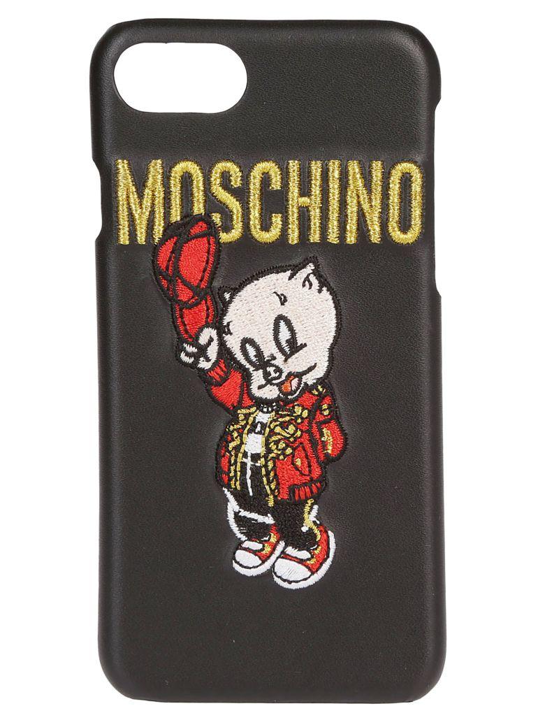 Moschino Porky Pig Iphone8 Case - Black