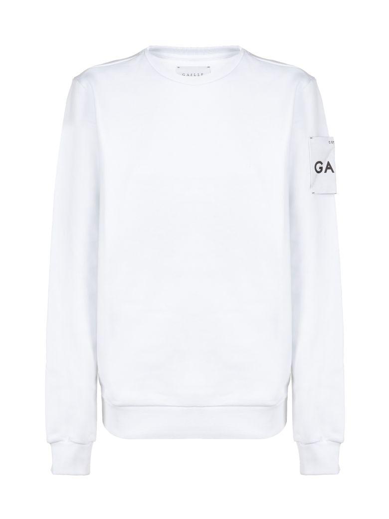 Gaelle Bonheur Logo Patch Sweatshirt - Bianco
