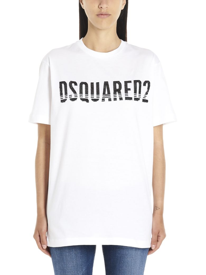 Dsquared2 'dyed' T-shirt - White