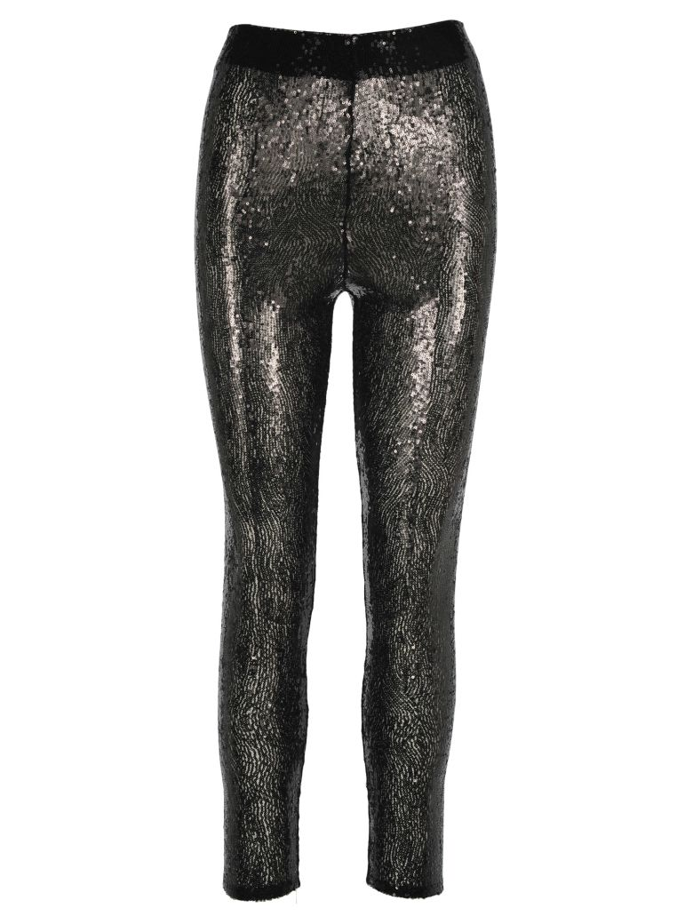 Philosophy di Lorenzo Serafini Philosophy Leggins Pailettes - Black