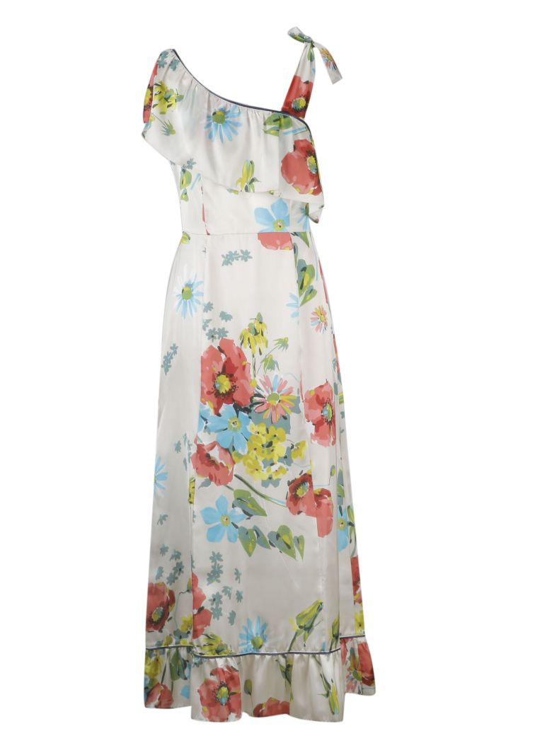 SEMICOUTURE Floral Dress - Camp