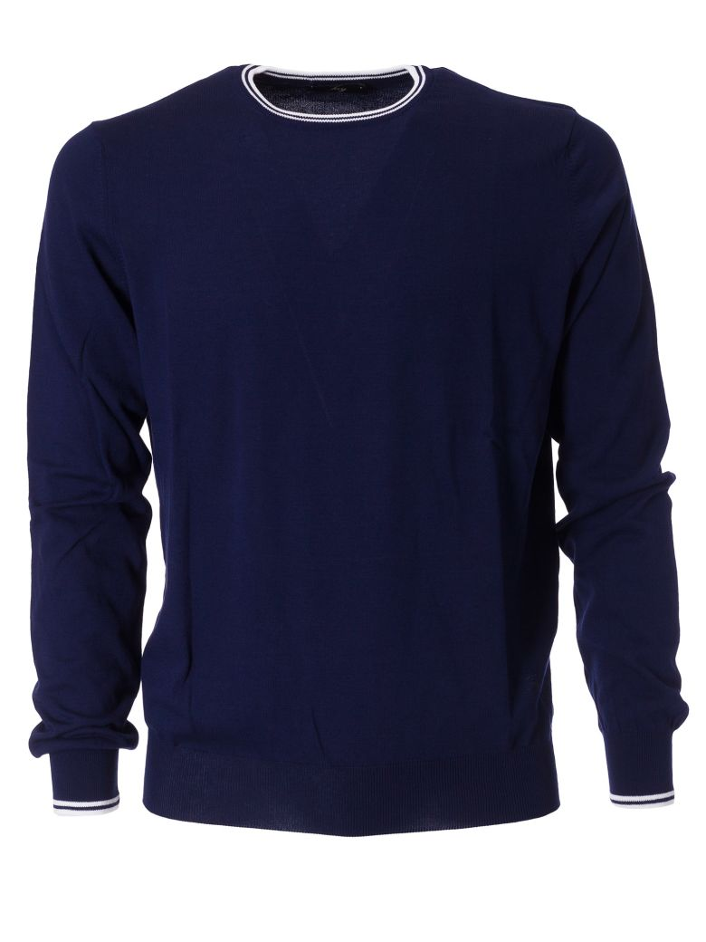 Fay Fitted Sweater - Blu