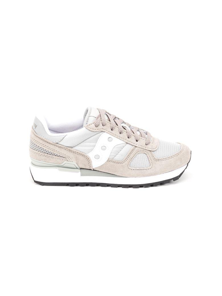 Saucony Saucony Shadow Original Suede Sneakers - Grey - white