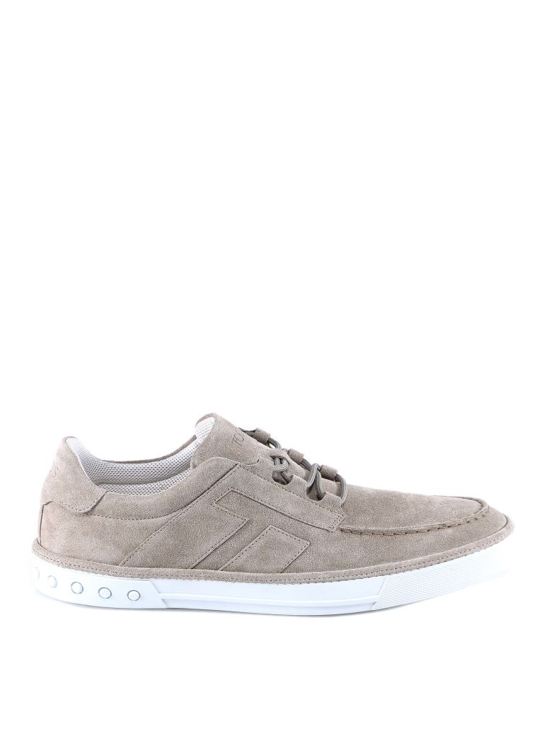 Tod's Boat Shoes Sneakers - Beige