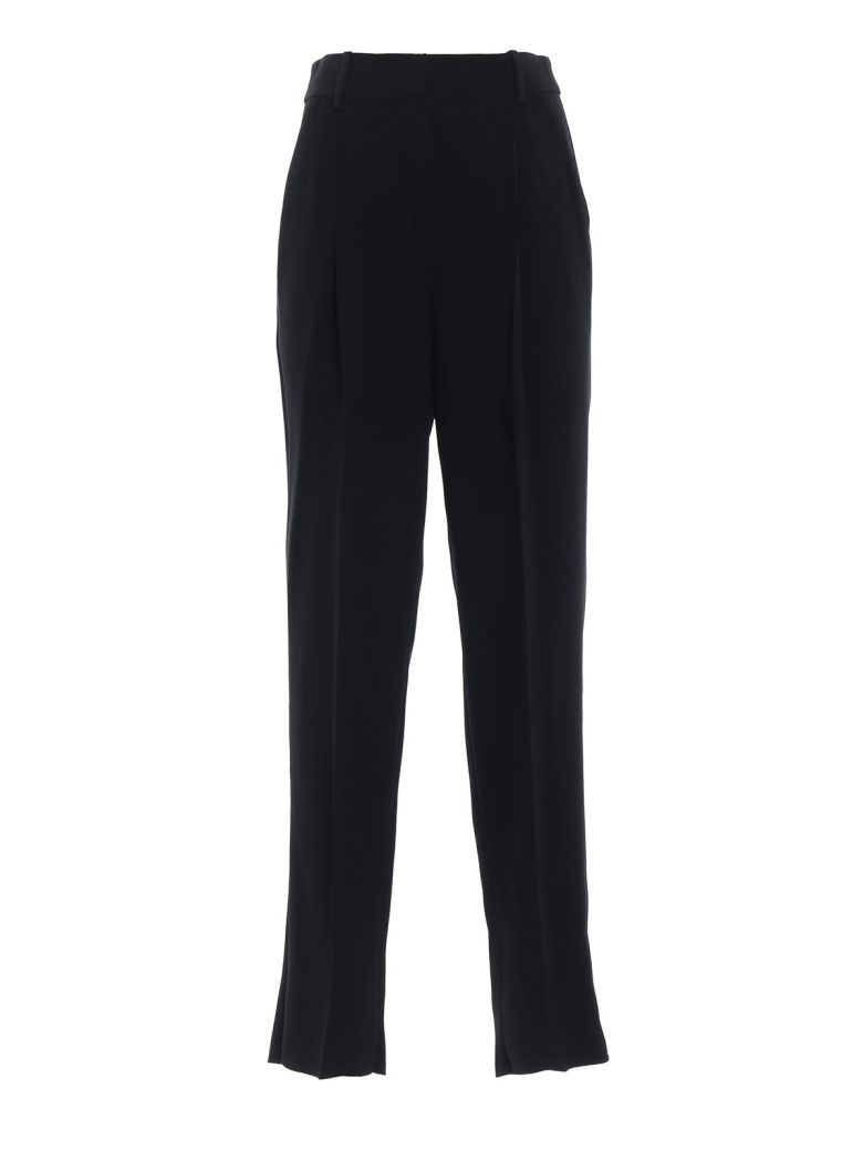 Emporio Armani Loose Tailored Trousers - Nero