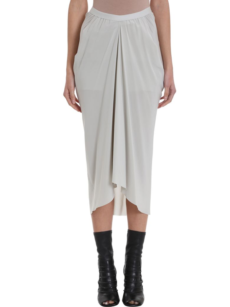 Rick Owens Kite Babel Skirt - grey