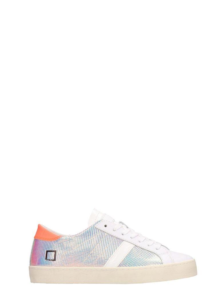 D.A.T.E. Multicolored Leather Hill Low Sneakers - Multicolor