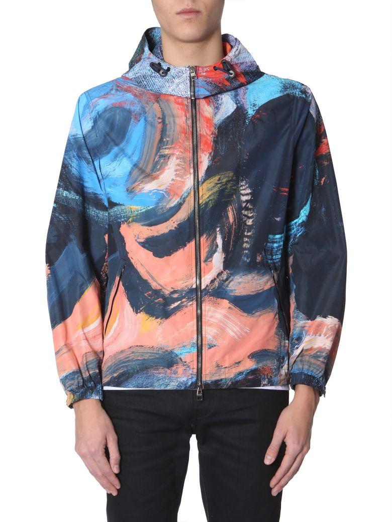 Alexander McQueen Hooded Jacket - MULTICOLOR