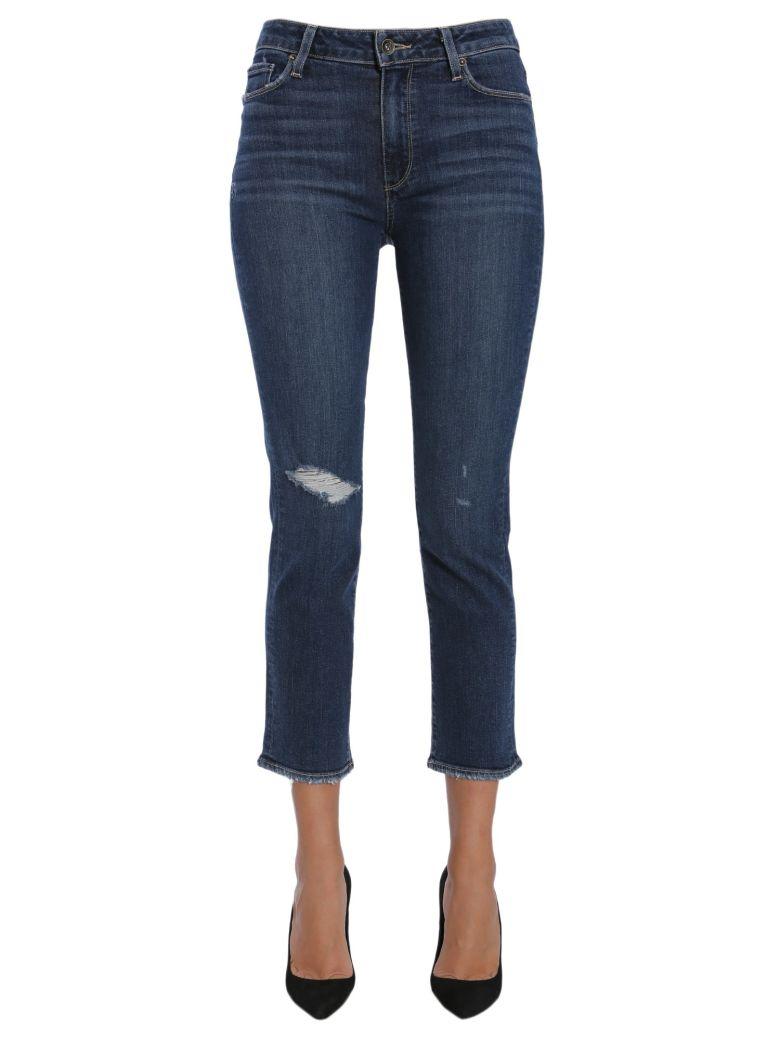 Paige Jacqueline Straight Jeans - BLU