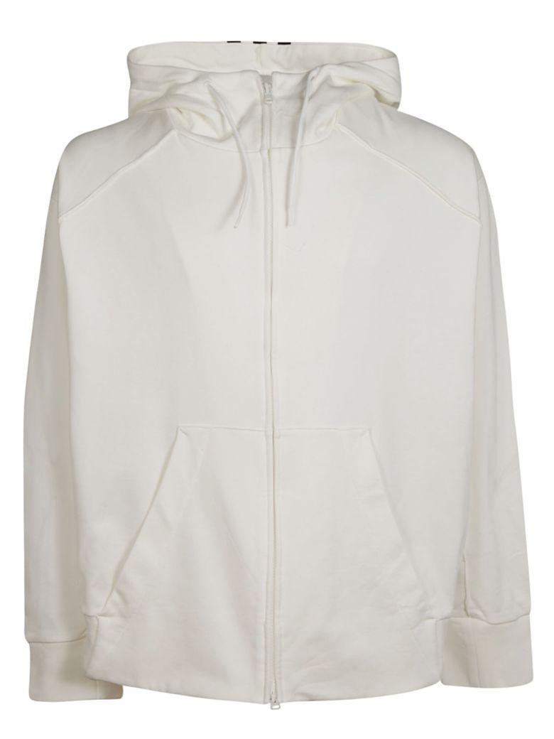 Y-3 Zipped Hoodie - White
