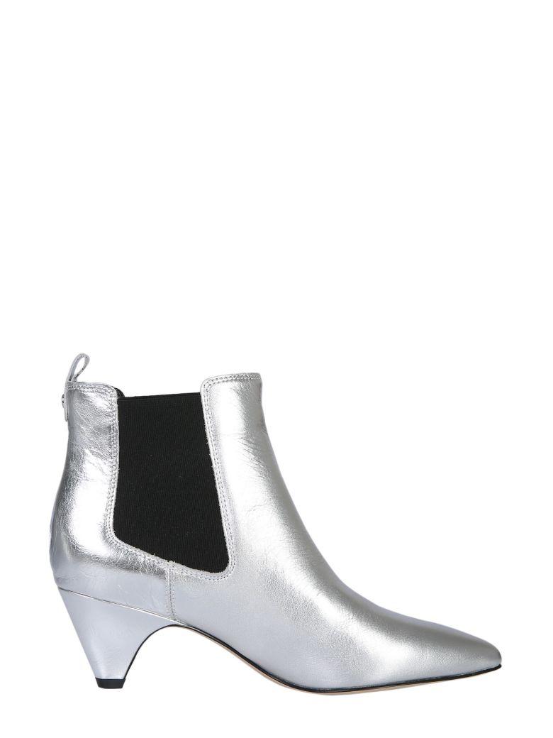 Sam Edelman Katt Ankle Boots - Silver