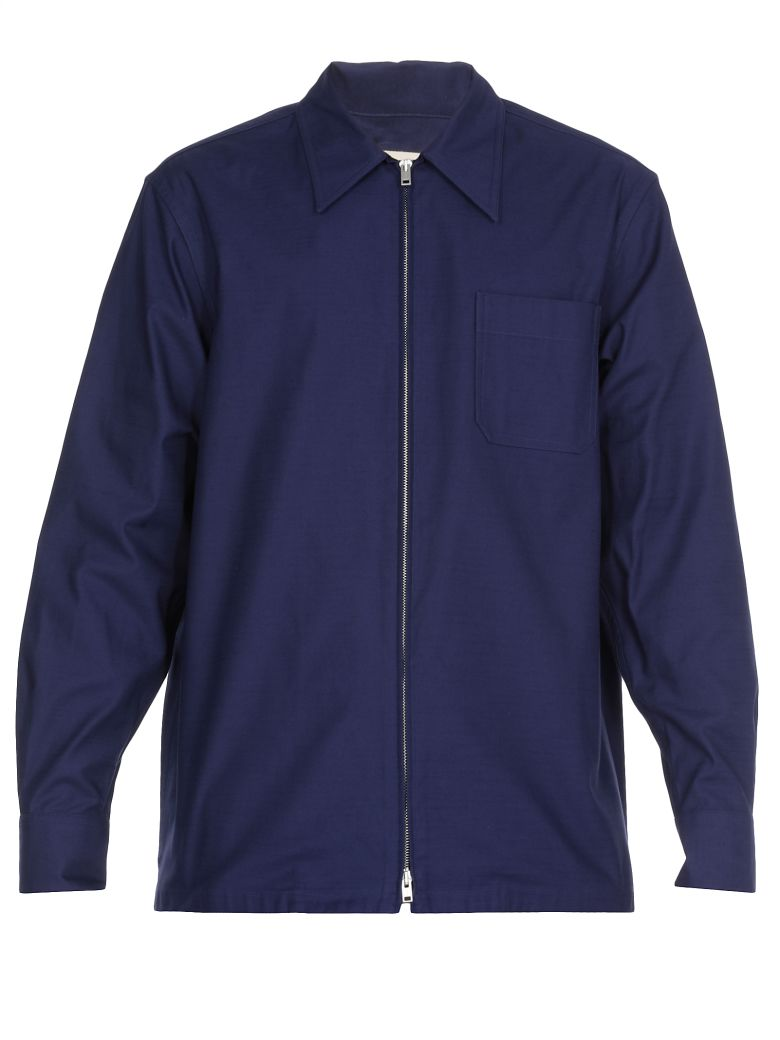 Marni Cotton Jacket - BLUE