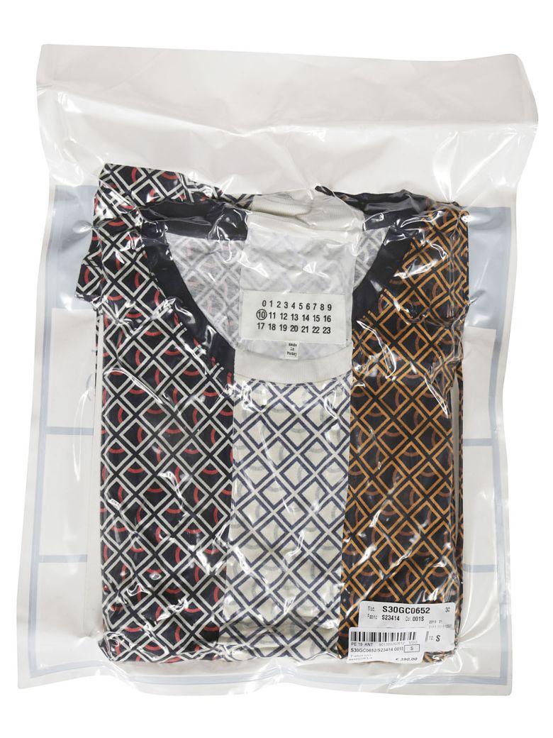Maison Margiela Cottons DIAMOND MICROPRINT T-SHIRT