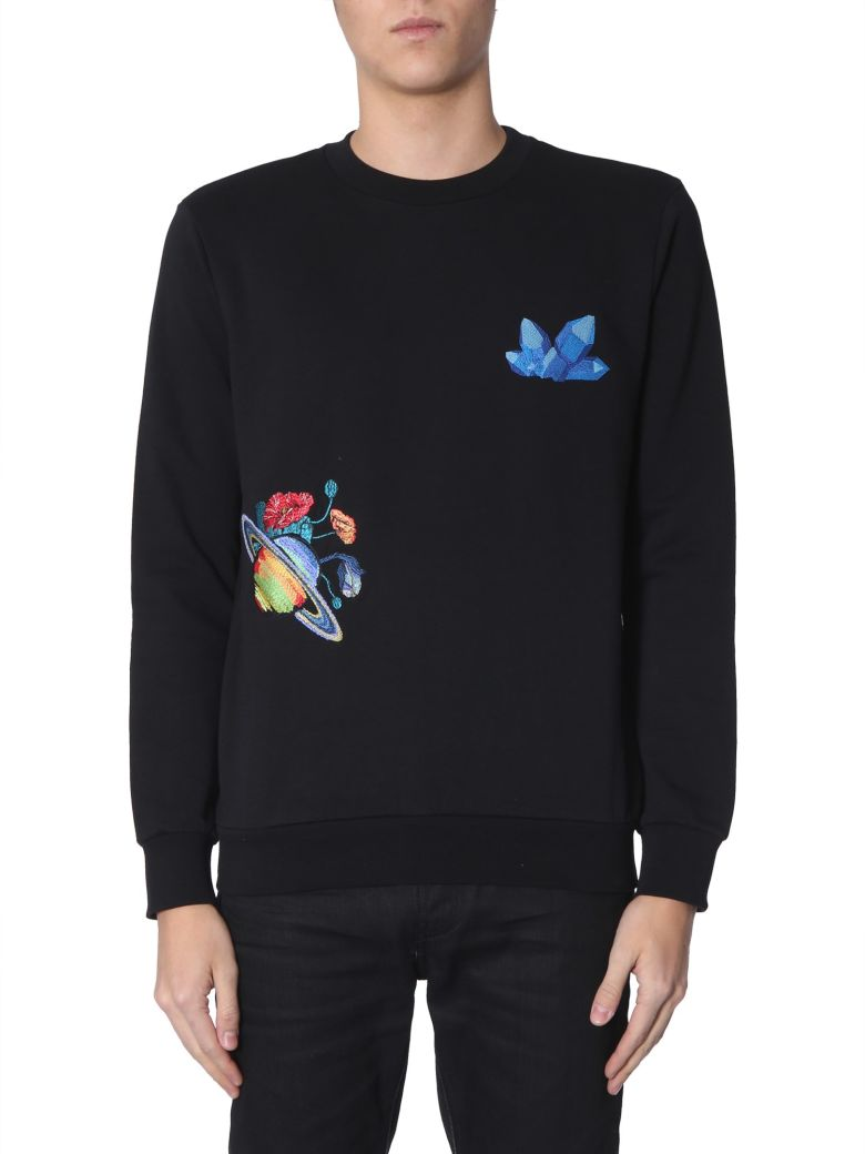 Paul Smith Embroidered Sweatshirt - NERO