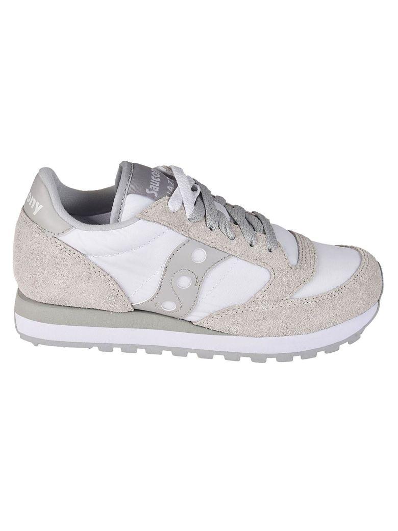 Saucony Sneaker Jazz O' White Grey - White/grey