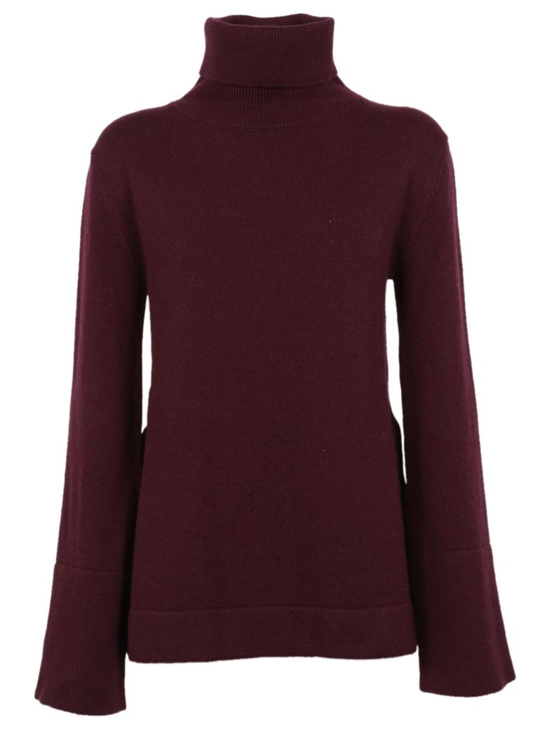 Saverio Palatella Roll Neck Sweater - Aubergine
