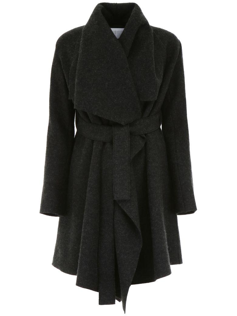 Harris Wharf London Belted Blanket Coat - Basic