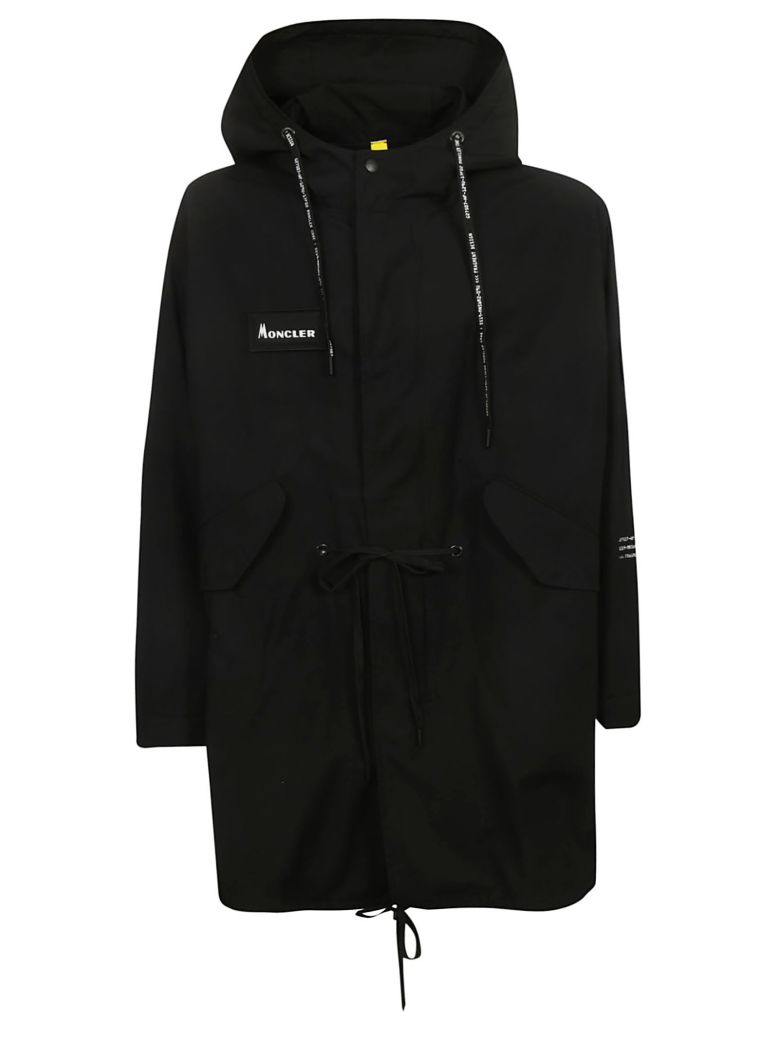Moncler Genius Bepop Hooded Parka - Black