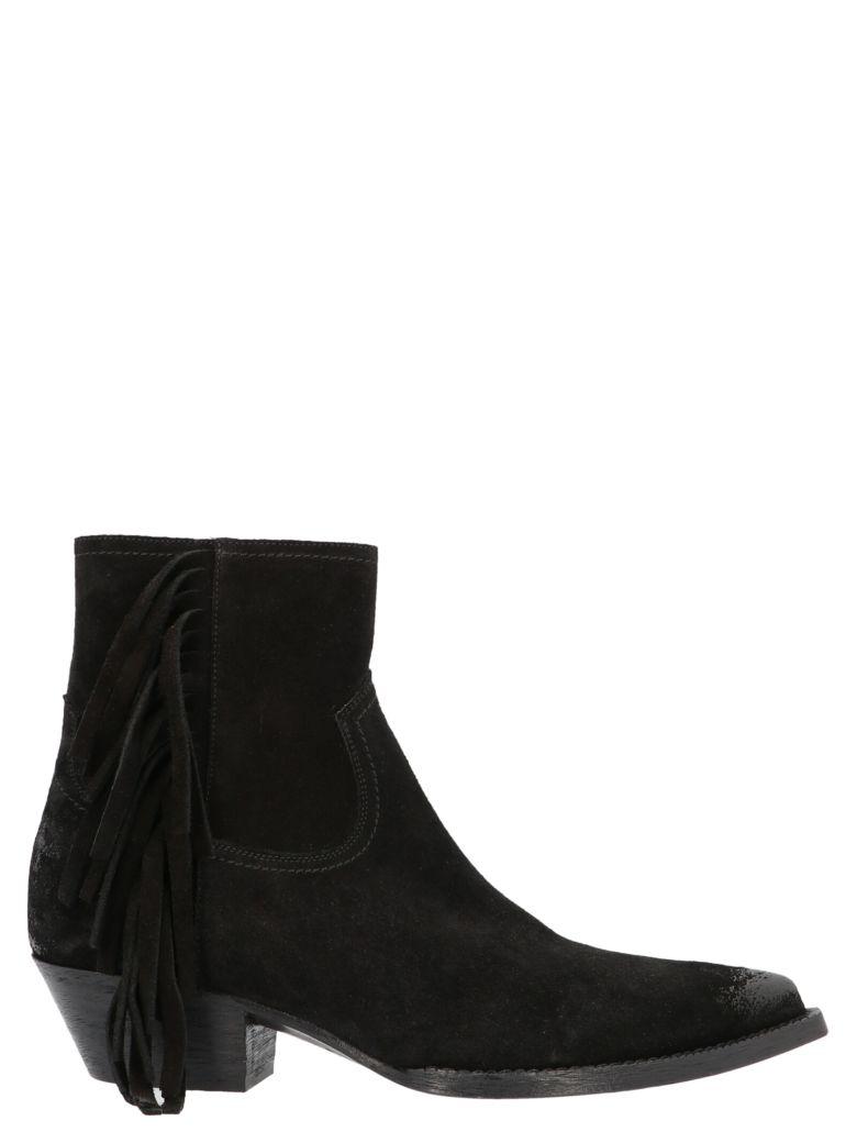 Saint Laurent 'lucas' Shoes - Black