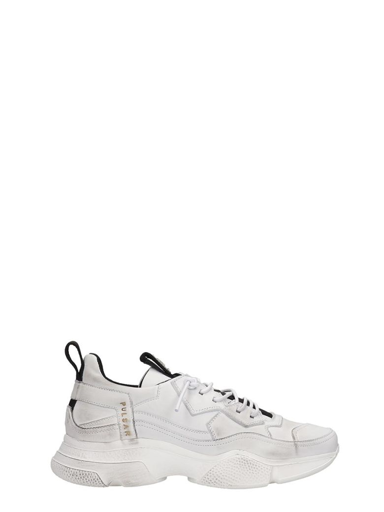 Bruno Bordese Sneakers In White Leather - white