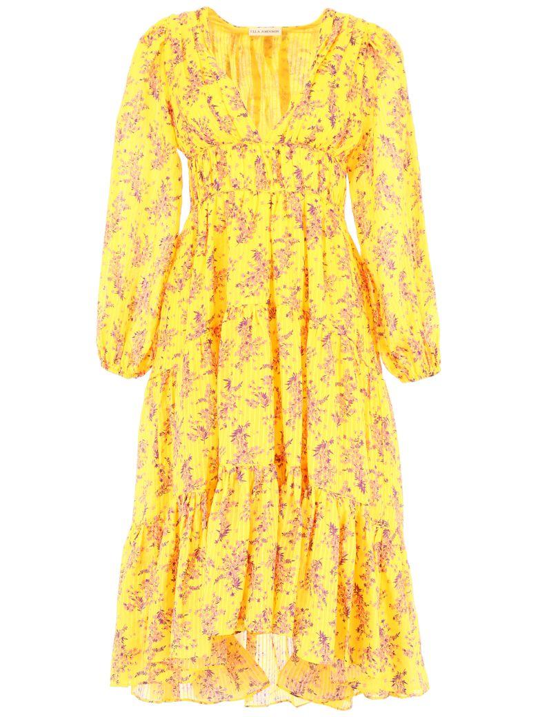 Ulla Johnson Joan Dress - CHARTREUSE (Yellow)