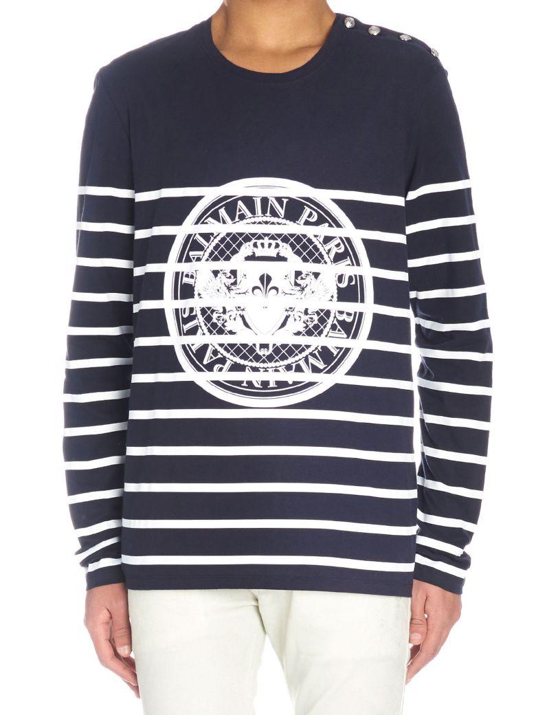Balmain T-shirt - Blue
