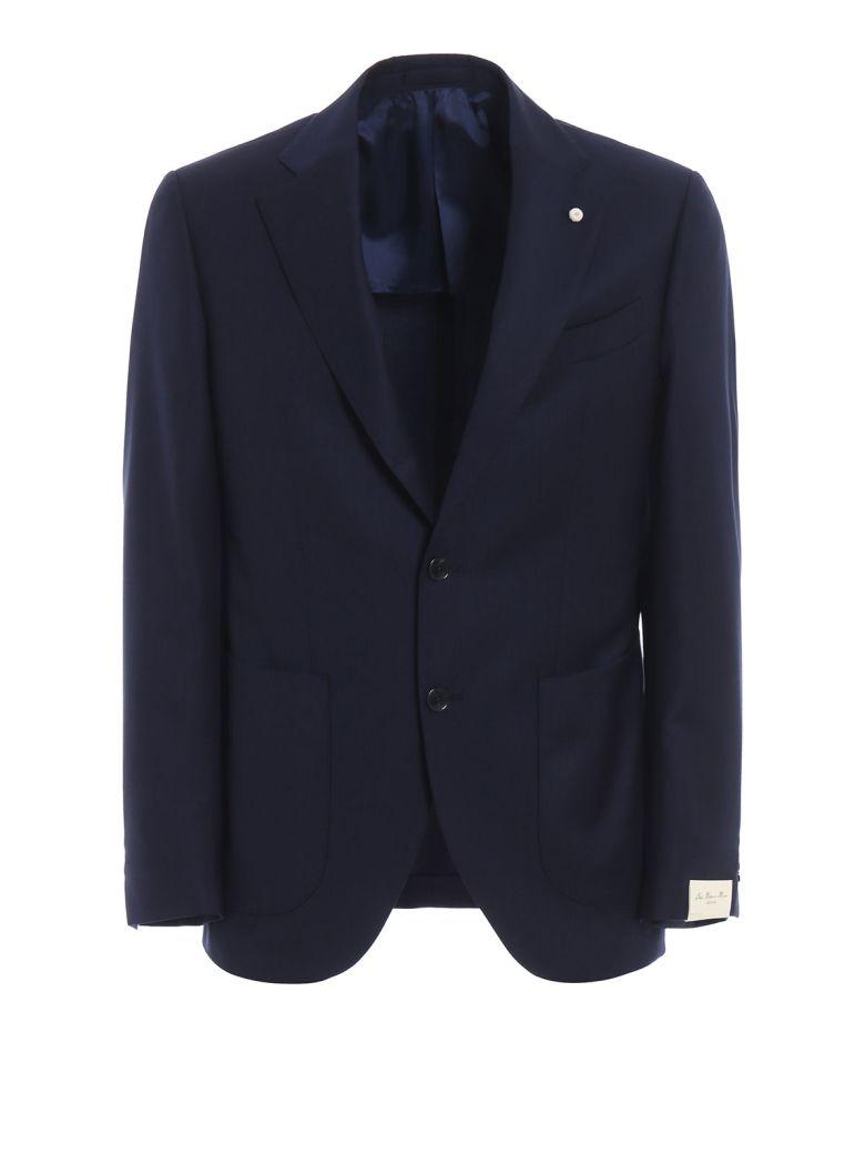 Luigi Bianchi Mantova Formal Blazer - Navy Blue