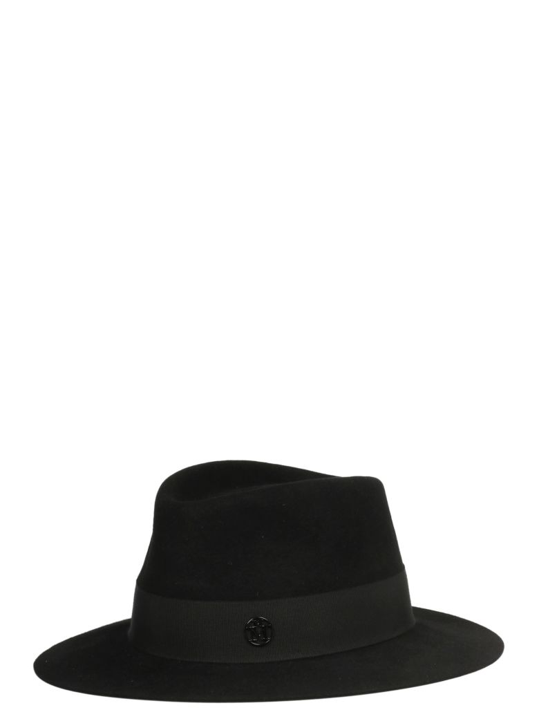 Maison Michel Hat - Black