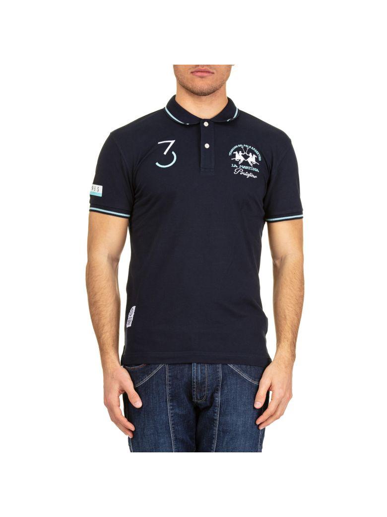 La Martina La Martina Cotton Piquè Polo Shirt - Blue