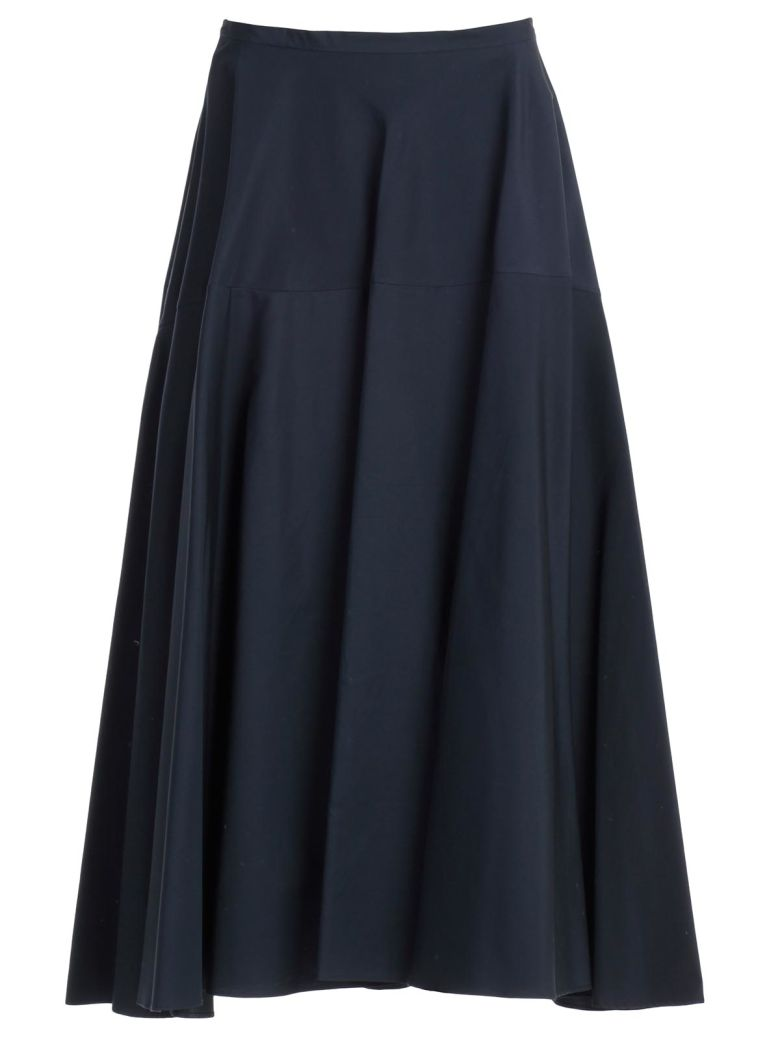 Aspesi Flared Skirt - Blu Navy
