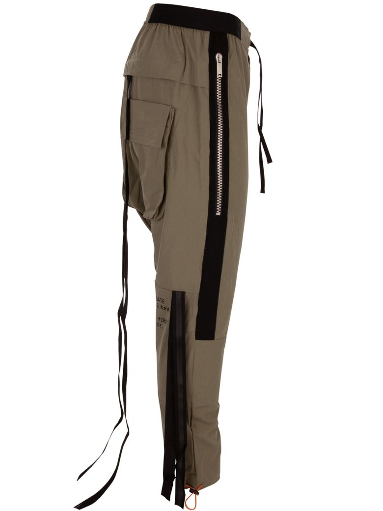 Ben Taverniti Unravel Project Ben Taverntii Trousers - Military green