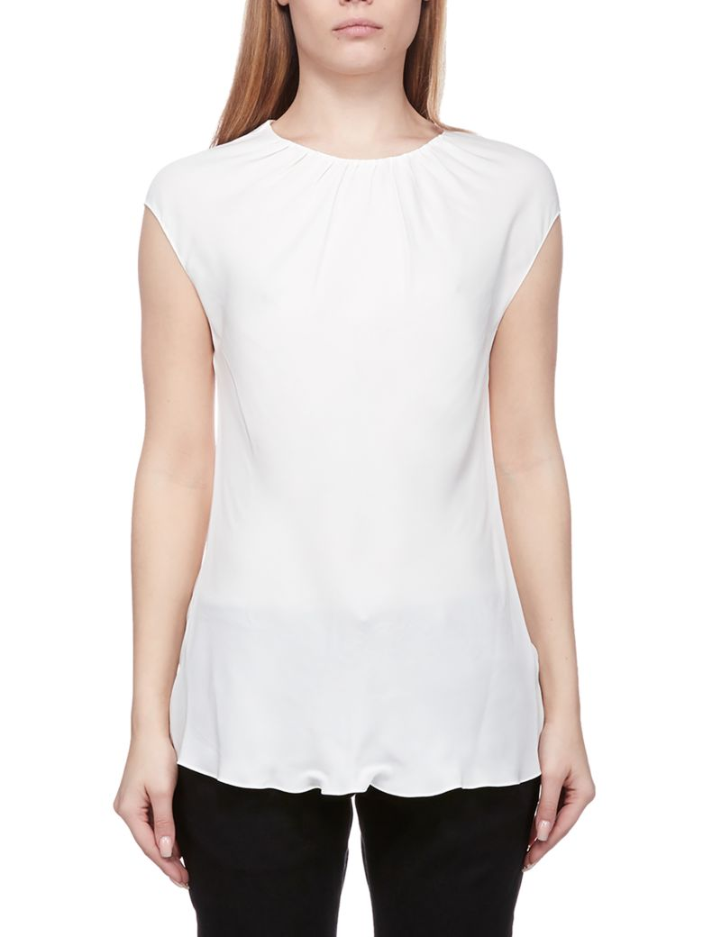 Theory Slim Fit Top - Bianco