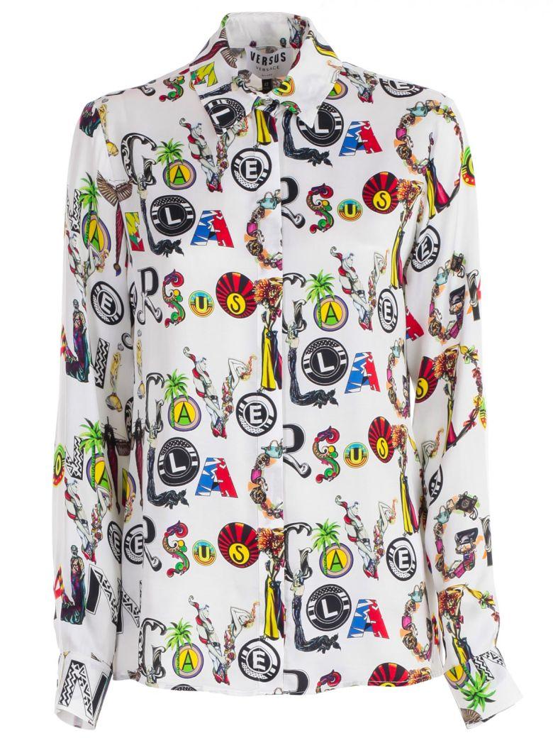 Versus Versace Printed Shirt - White Stampa
