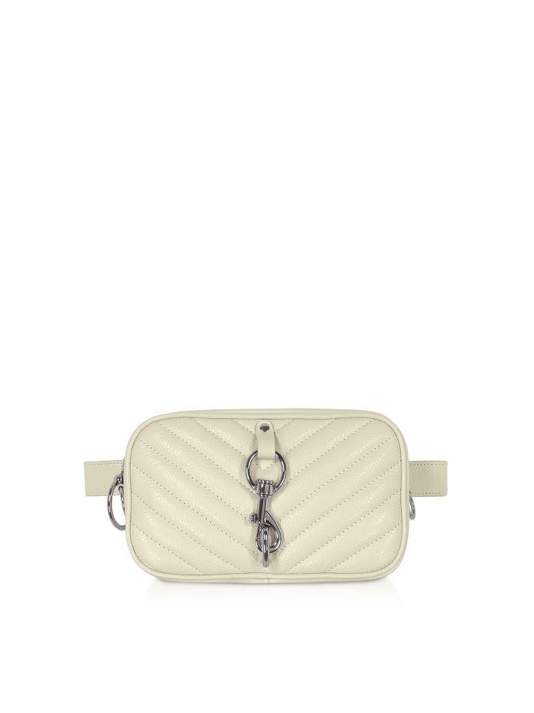 Rebecca Minkoff Pebbled Leather Camera Belt Bag - Clay