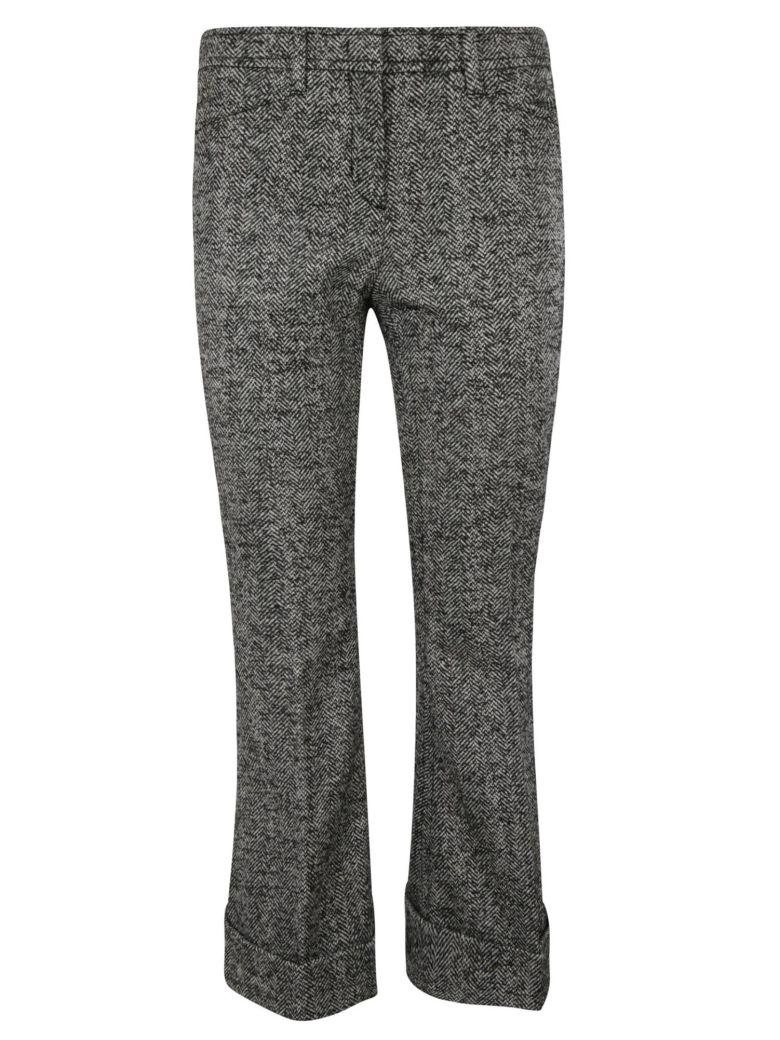N.21 Woven Trousers - Black