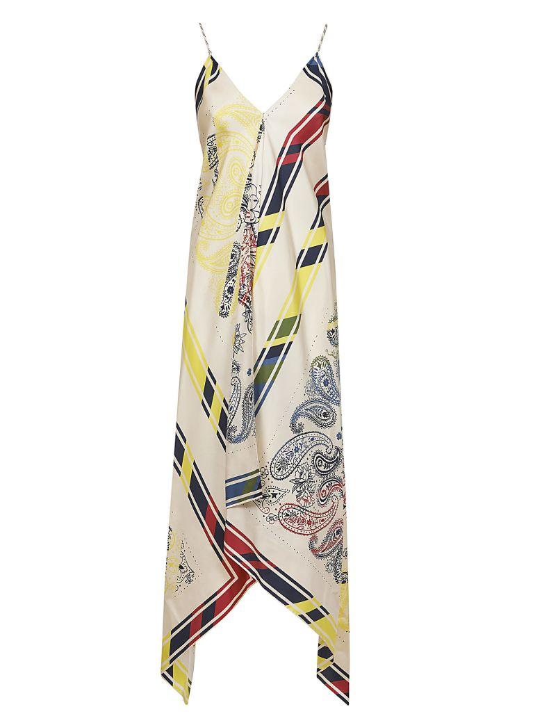 Golden Goose Bandana Print Blanket Dress - 100% Silk