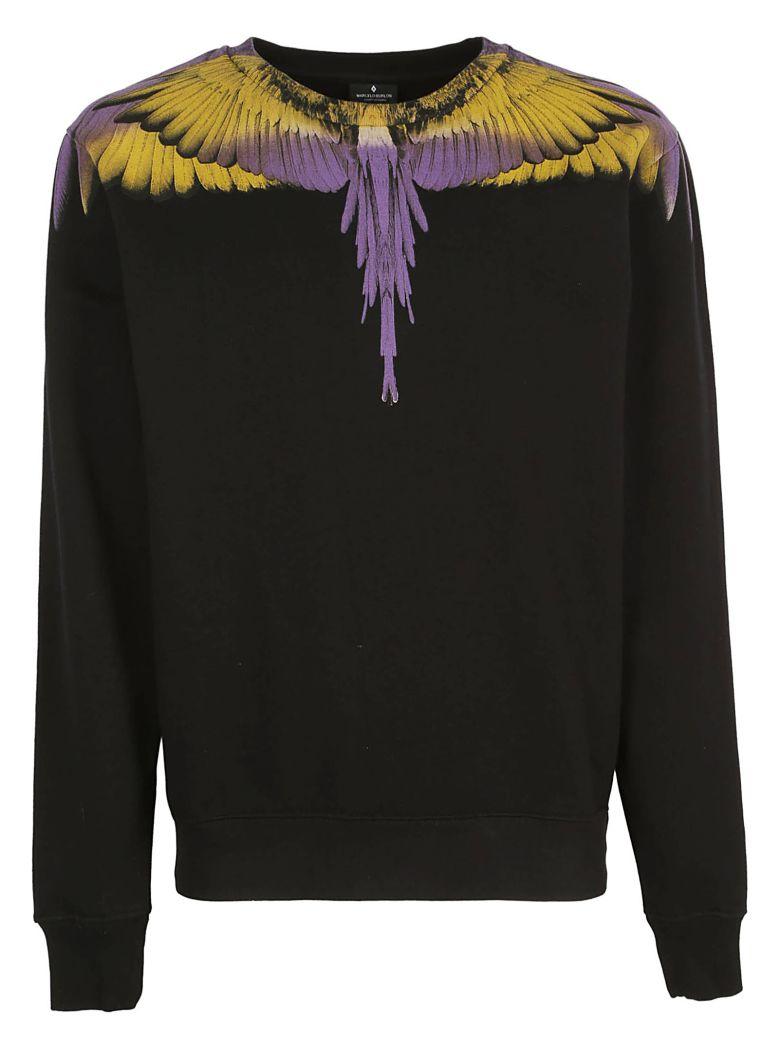 Marcelo Burlon Sweatshirt - Black yellow