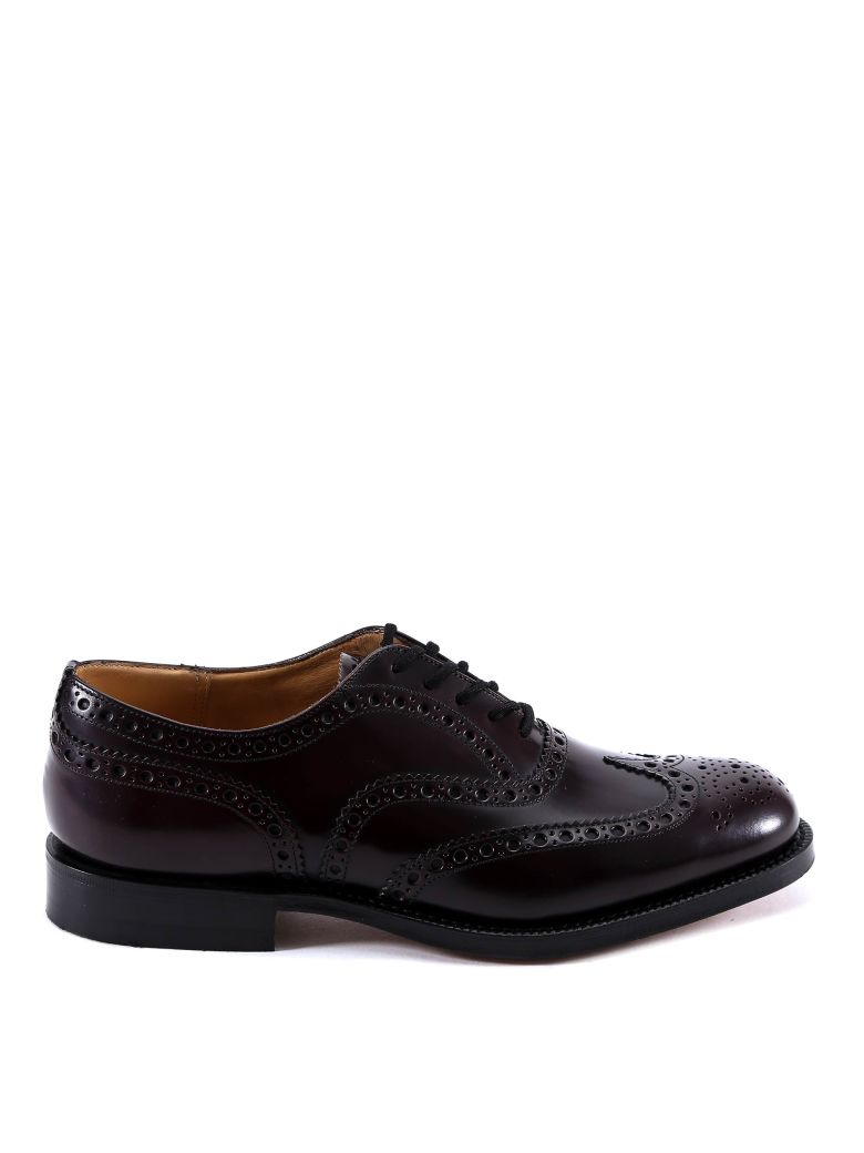 Church's Burwood Lace-up Shoes - Bordeaux