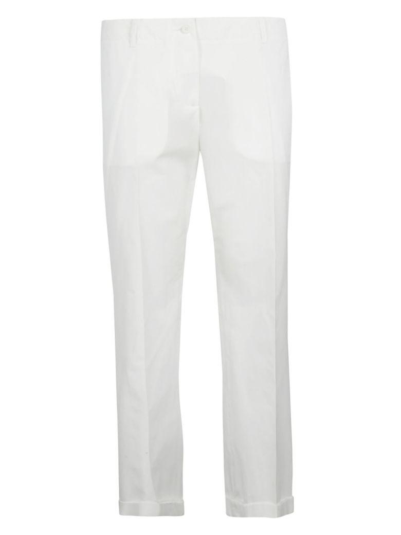 Aspesi Straight Fit Trousers - White