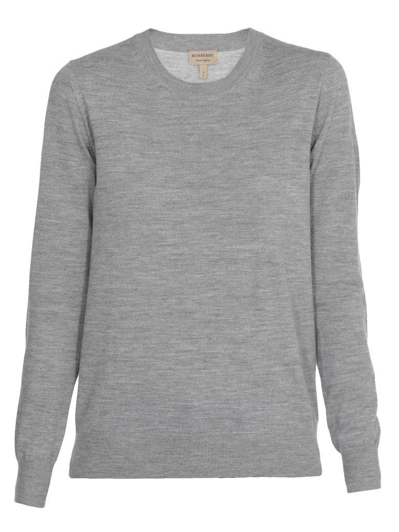 Burberry Bempton Sweater - GREY MELANGE