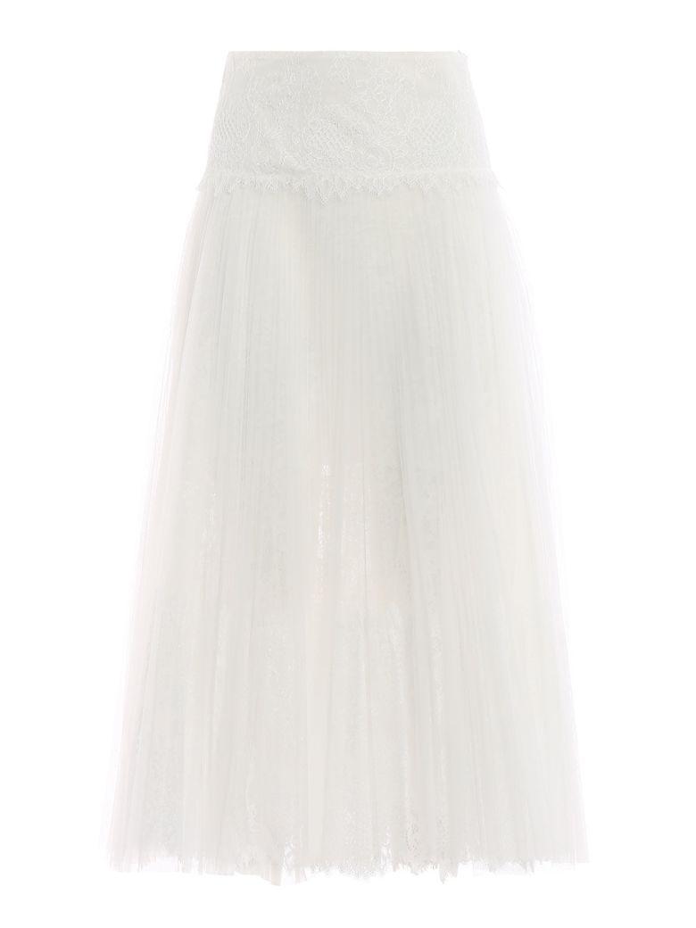 Ermanno Scervino Lace Skirt - Bianco