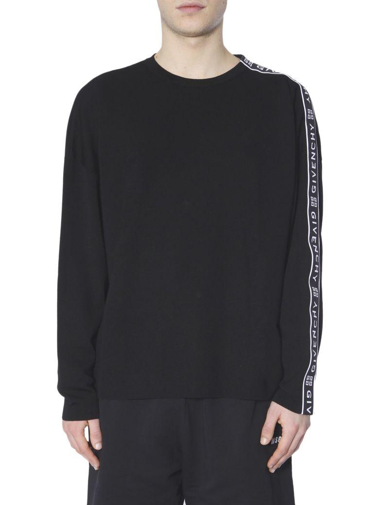 Givenchy 4g Logo-tape Sweater - NERO