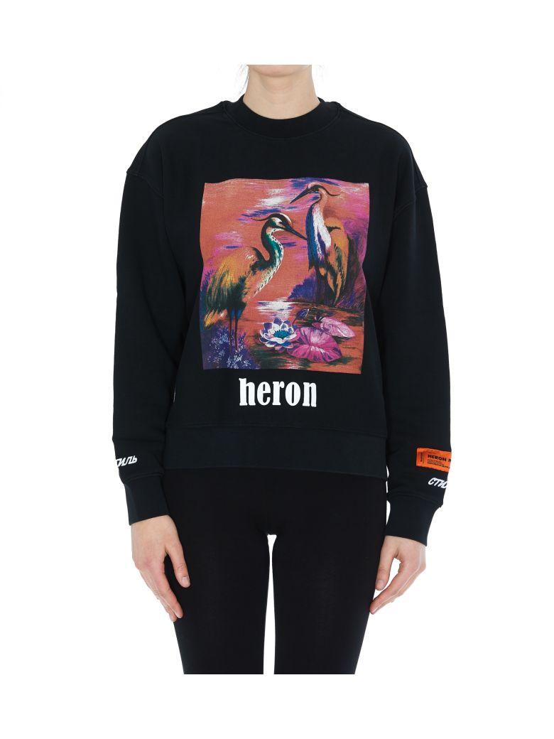 HERON PRESTON Heron Birds Sweatshirt - Multicolor