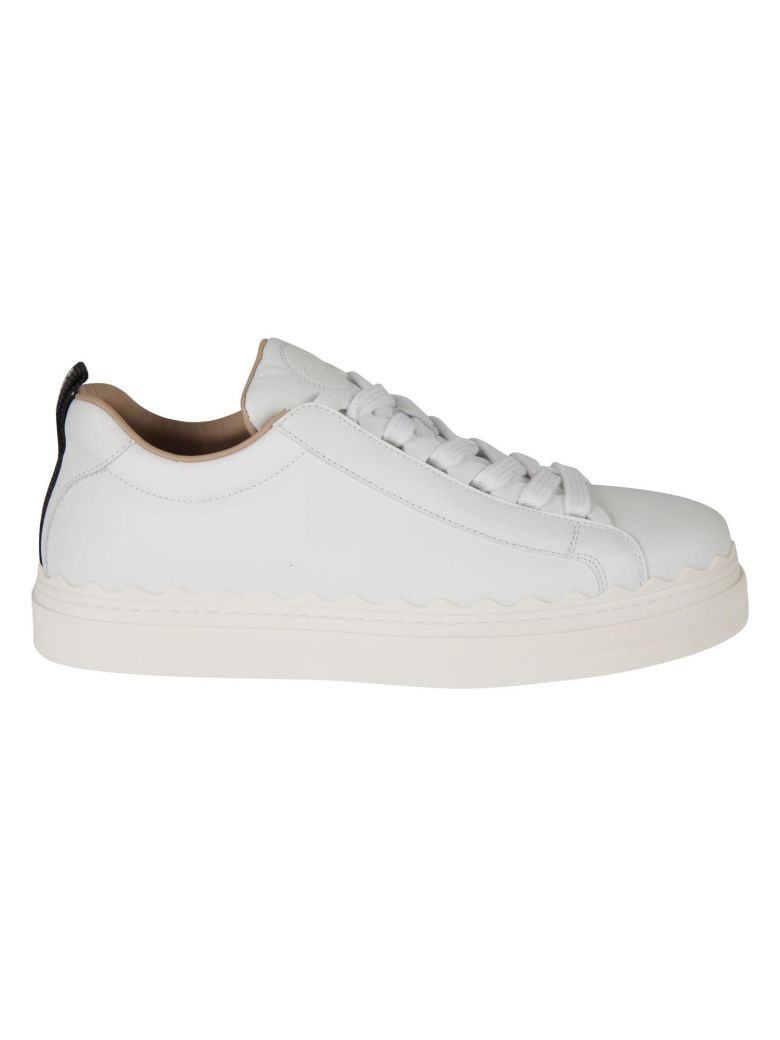 Chloé Western Sneakers - White