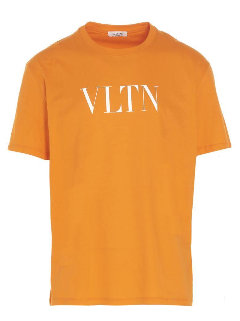 Valentino 'vltn' T-shirt - Orange