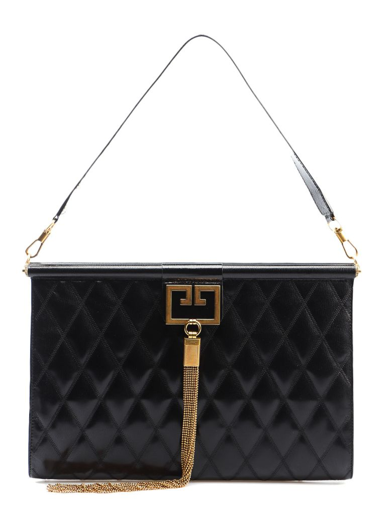 Givenchy Gem Large Clutch - Black