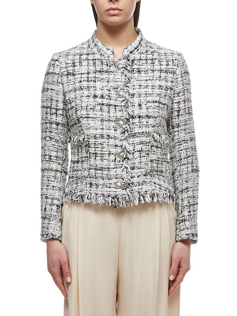 Tagliatore Tweed Jacket - Nero multicolor
