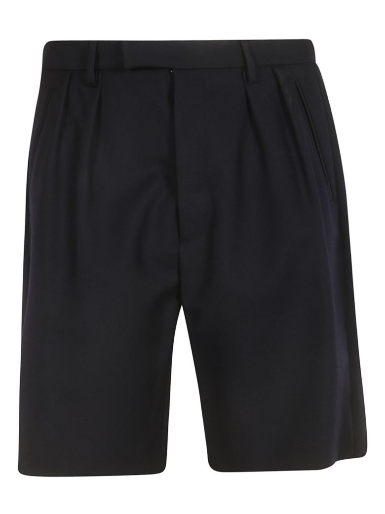 Golden Goose Pleated Shorts - Navy