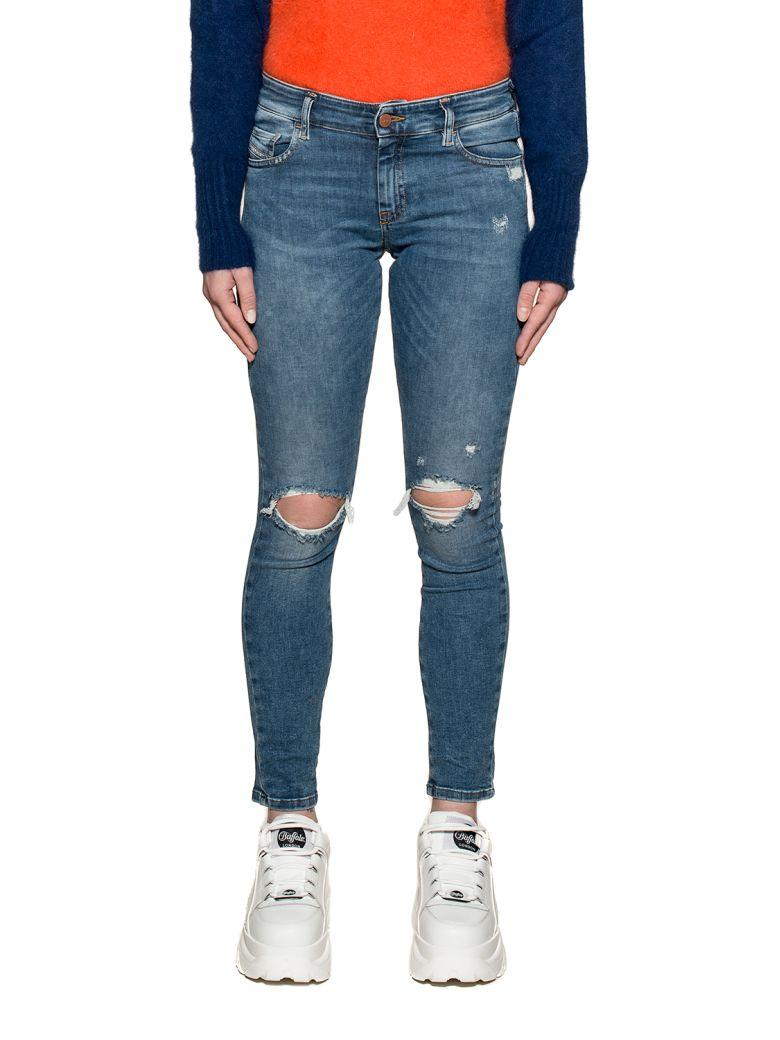 Diesel Light Blue Slandy Low Denim Jeans - Light Blue